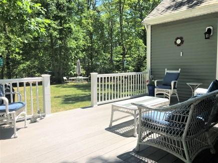 Harwich Cape Cod vacation rental - Sunny deck