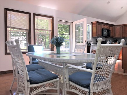 Harwich Cape Cod vacation rental - Dining table seats 6