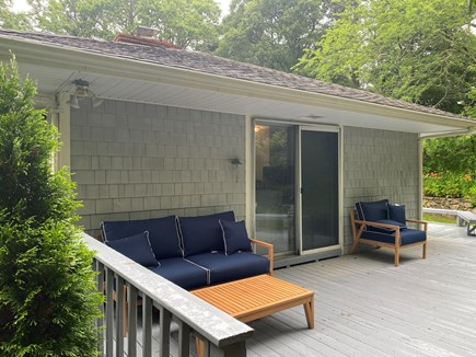 Barnstable, Osterville Cape Cod vacation rental - Side deck