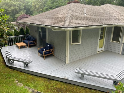 Barnstable, Osterville Cape Cod vacation rental - Rear and side deck