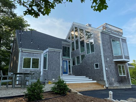 Woods Hole Cape Cod vacation rental - Exterior of the house.