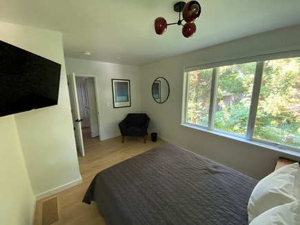 Woods Hole Cape Cod vacation rental - Bedroom 2 with queen bed, private hall with laundry & full bath.