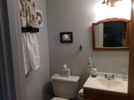 South Dennis Cape Cod vacation rental - Master bathroom