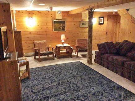 South Dennis Cape Cod vacation rental - Finished basement