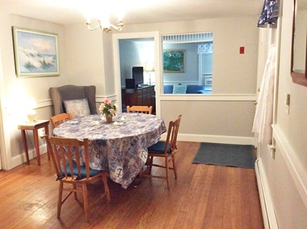 South Dennis Cape Cod vacation rental - Dining Room