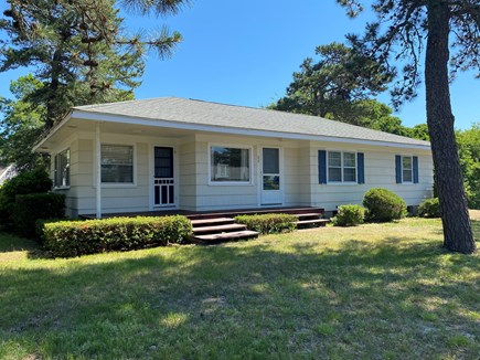 West Dennis Cape Cod vacation rental - Front view of house