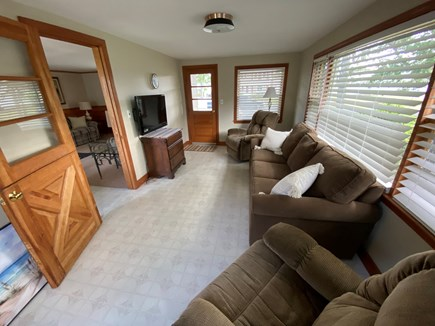 West Dennis Cape Cod vacation rental - Den/Sunroom