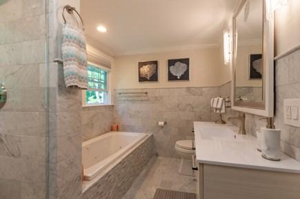 West Barnstable Cape Cod vacation rental - En Suite Bath with soaking tub