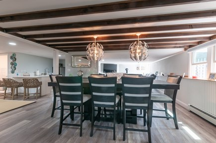 West Barnstable Cape Cod vacation rental - Lower level Dining area