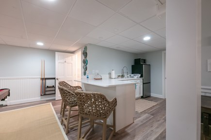 West Barnstable Cape Cod vacation rental - Lower level efficiency Kitchen