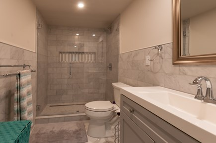 West Barnstable Cape Cod vacation rental - Lower level Bath with shower
