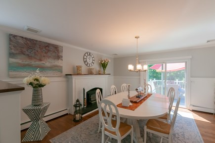 West Barnstable Cape Cod vacation rental - Dining Room with slider to deck