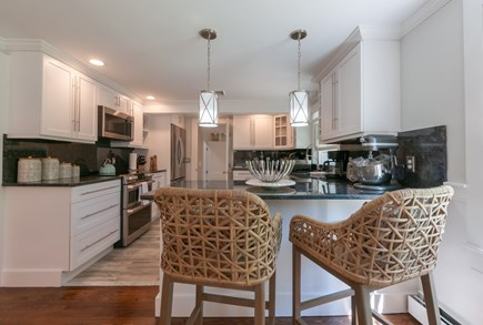 West Barnstable Cape Cod vacation rental - Kitchen with bartop seating