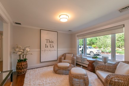 West Barnstable Cape Cod vacation rental - Sitting Room