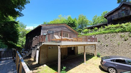 Wellfleet Cape Cod vacation rental - Second floor apartment with large deck