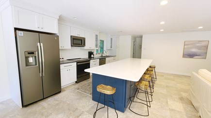 Wellfleet Cape Cod vacation rental - Bright kitchen with stainless appliances