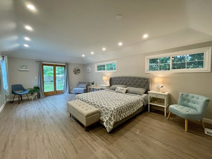 Barnstable, Centerville Cape Cod vacation rental - Master bedroom with a King size bed and a private porch