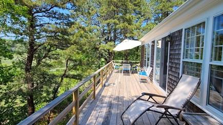 Wellfleet Cape Cod vacation rental - Wonderful deck with everchanging Duck Creek views
