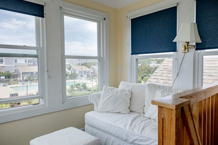 provincetown Cape Cod vacation rental - Pool view and endless breezes from look out