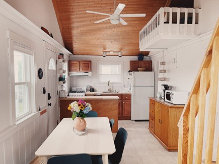 provincetown Cape Cod vacation rental - Main living area kitchen/coffee station