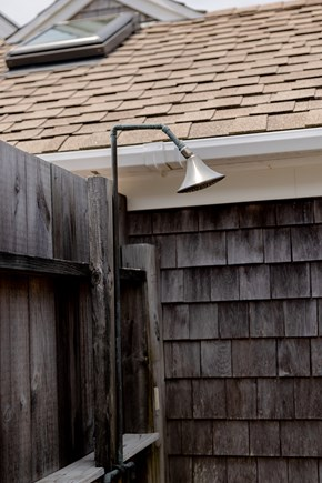 provincetown Cape Cod vacation rental - Lovely outdoor shower