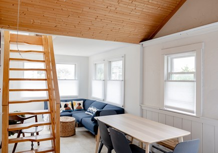 provincetown Cape Cod vacation rental - Dining area seats up to 6 comfortably