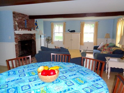 Eastham Cape Cod vacation rental - Dining to Living Room