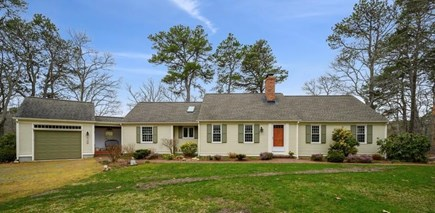 Brewster Cape Cod vacation rental - An exterior view of the front of the house.