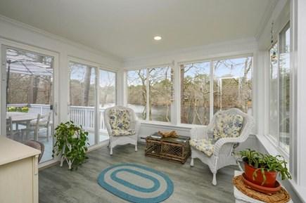 Brewster Cape Cod vacation rental - Screened in, three season porch.