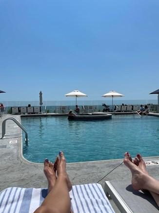Dennisport Cape Cod vacation rental - Pool accessible
