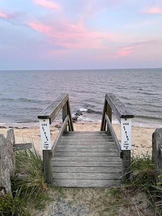 Dennisport Cape Cod vacation rental - Great sunsets!