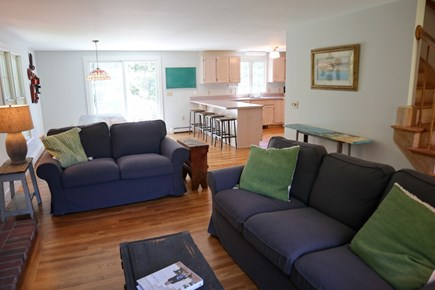 Orleans Cape Cod vacation rental - Living room, view to kitchen