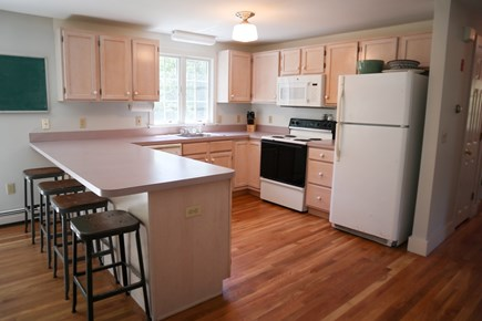 Orleans Cape Cod vacation rental - Fully equipped kitchen with high boy seating for four