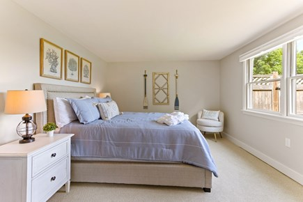 Eastham Cape Cod vacation rental - Queen bedroom, lower level