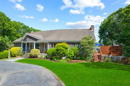 Eastham Cape Cod vacation rental - Beautiful view and curb appeal, too!
