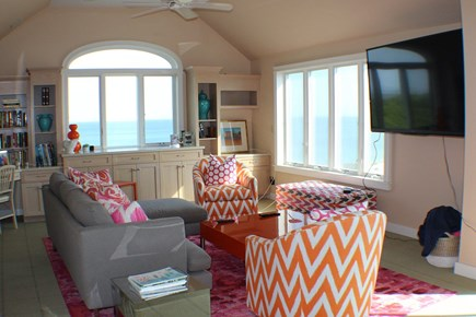 Sandwich Cape Cod vacation rental - Living area of the 3rd floor master suite