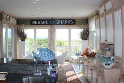 Sandwich Cape Cod vacation rental - Open living area off the kitchen and dining area