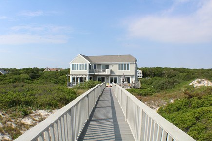 Sandwich Cape Cod vacation rental - View of home coming back from the beach