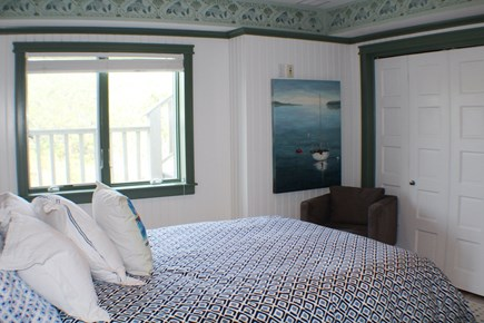 Sandwich Cape Cod vacation rental - Bedroom on the lower level with a queen bed.