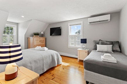 Dennis Cape Cod vacation rental - Upstairs bedroom with a queen and twin bed