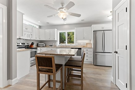 Dennis Cape Cod vacation rental - Kitchen island with seating for four