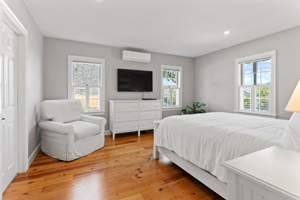 Dennis Cape Cod vacation rental - Master bedroom on main level with a King
