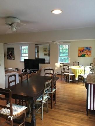 Wellfleet Cape Cod vacation rental - Open dining area seats 10