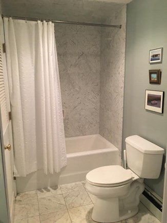 Wellfleet Cape Cod vacation rental - Full bath with tub on main floor with washer and dryer