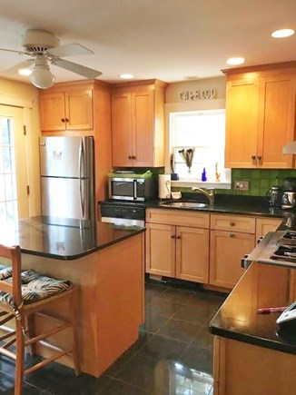 Wellfleet Cape Cod vacation rental - Kitchen with granite countertops and stainless appliances