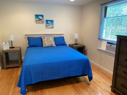 Mashpee Cape Cod vacation rental - Queen bedroom, Amazing natural lighting from the large window