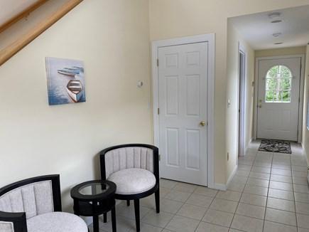 Mashpee Cape Cod vacation rental - Entryway with coat closet.