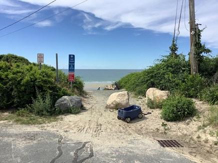 Dennis Village Cape Cod vacation rental - Landing at end of Pilgrim Road