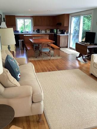Dennis Village Cape Cod vacation rental - Living/ Dining/ Kitchen