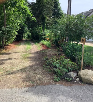 Dennis Village Cape Cod vacation rental - Long secluded driveway to your retreat